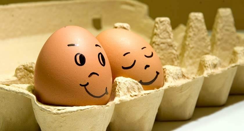 яйца трехдневной свежести